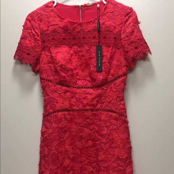 2fc3a53e96ff Elie Tahari Dresses | Adina Lace Short Sleeve Dress | Poshmark